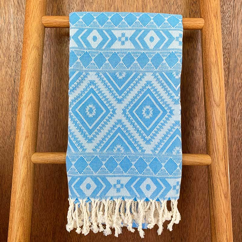 Rasim,  Textiles,  Coast Modern Turkish Towel - Zeki Blue, - Coast Modern