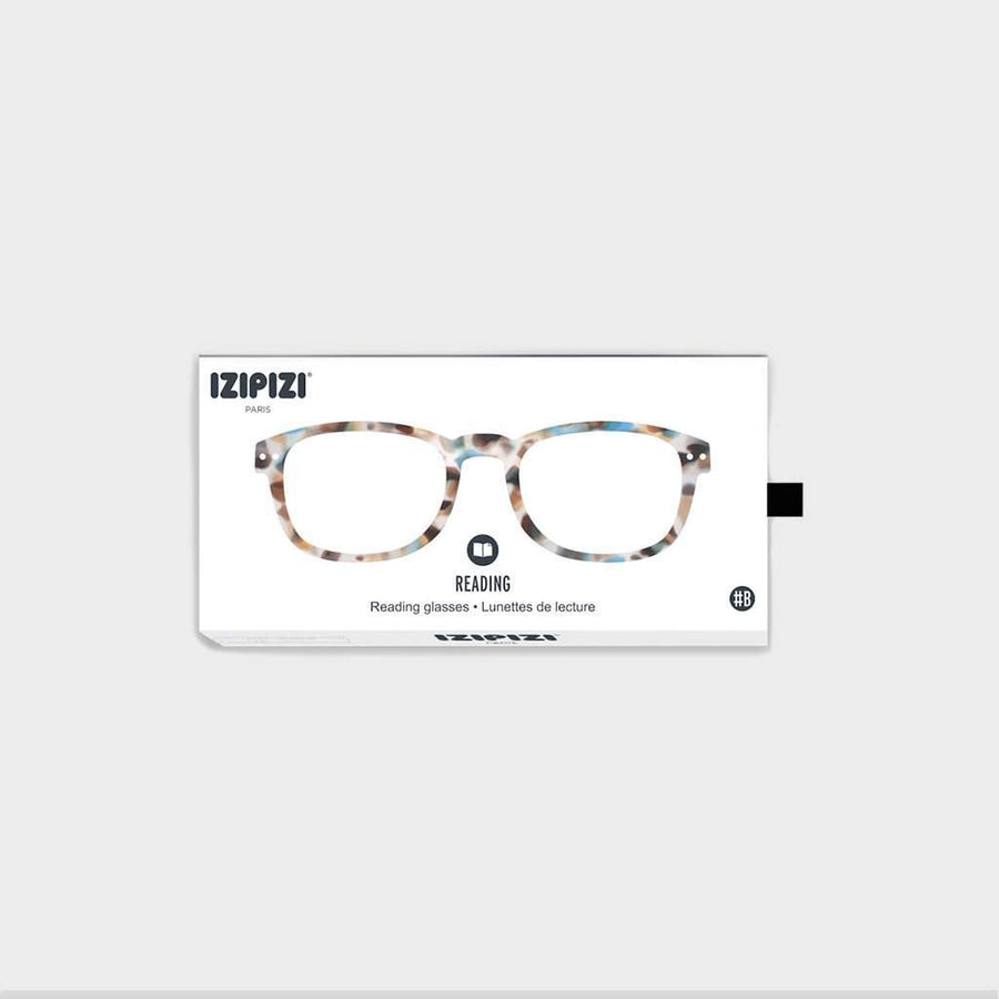 Izipizi Reading Glasses #B Blue Tortoise - Eyewear - Coast Modern