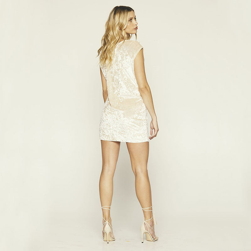 Knot Sisters,  Dresses,  Knot Sisters Disco Dress - Champagne, - Coast Modern