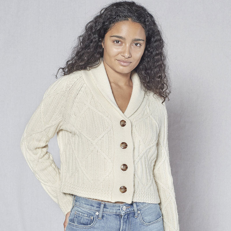 Outerknown,  Sweaters & Jackets,  Outerknown Marina cardigan - Birch, - Coast Modern