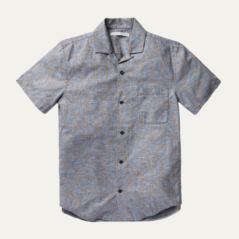 Outerknown,  Shirts,  Outerknown BBQ Shirt - Night Banana Leaf, - Coast Modern