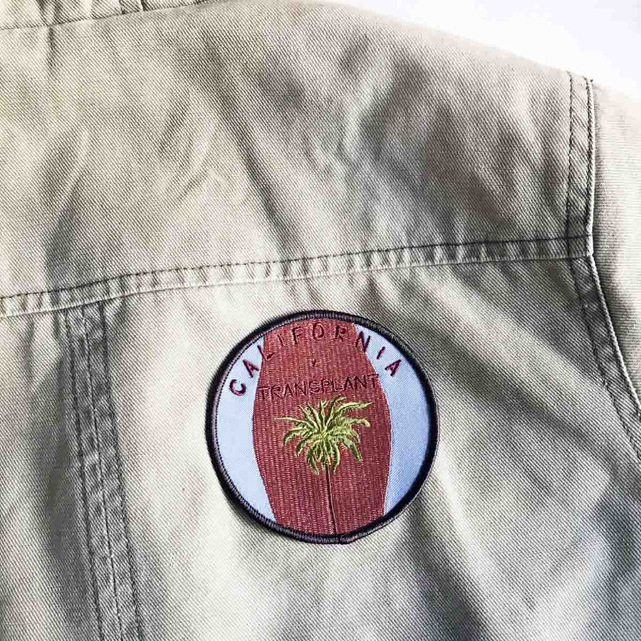 California Transplant Patch - Coast Modern