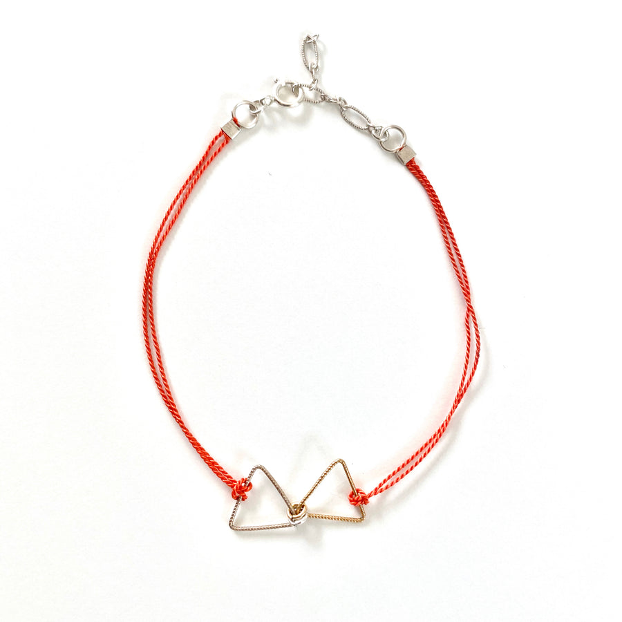 Nancy Yuan,  Jewelry,  Modern Friendship Bracelets Triangles, - Coast Modern
