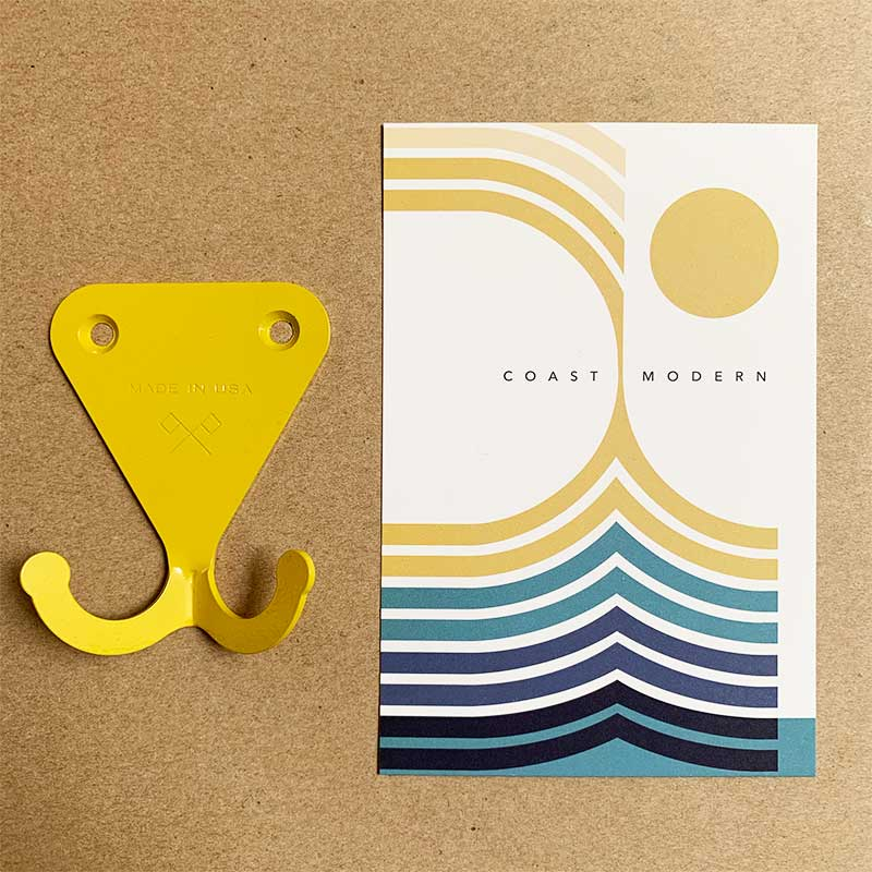Scout Regalia,  Furniture & Décor,  Scout Regalia SR Wall Hooks - Yellow, - Coast Modern