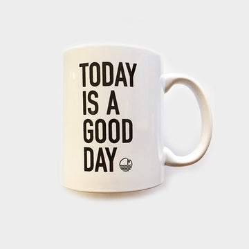 TJ Promotions Corp,  Objects,  Today is a Good Day Mug 11oz - White, - Coast Modern
