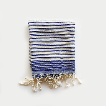 Rasim,  Textiles,  Turkish Towel Small - Hayal Blue, - Coast Modern