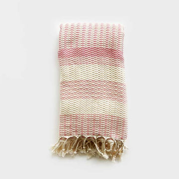 Rasim Arabaci,  Textiles,  Coast Modern Turkish Towel  - Pink, - Coast Modern