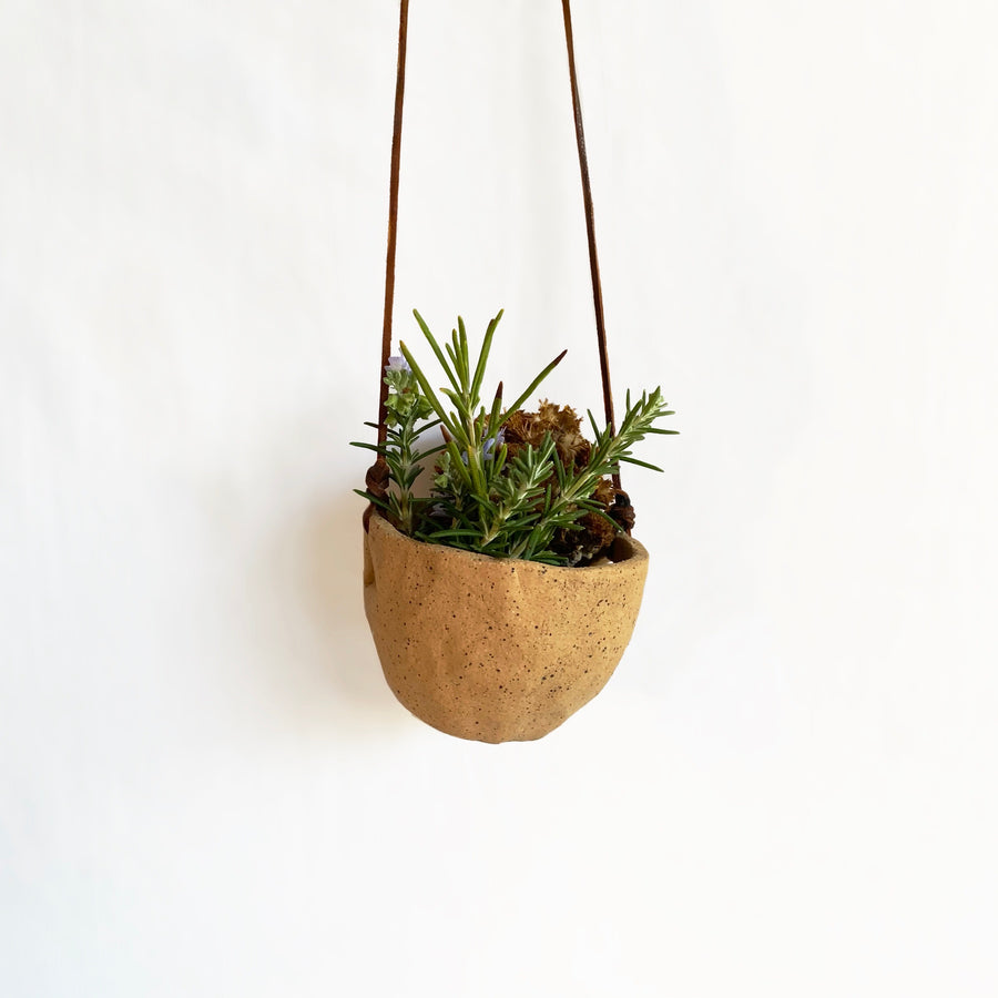Lauren Beitel,  Objects,  Hanging Planter, - Coast Modern