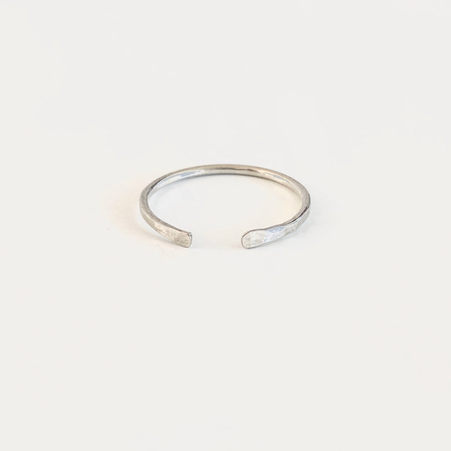 Bijoux B,  Jewelry,  Zoey Open Ring - Sterling Silver, - Coast Modern
