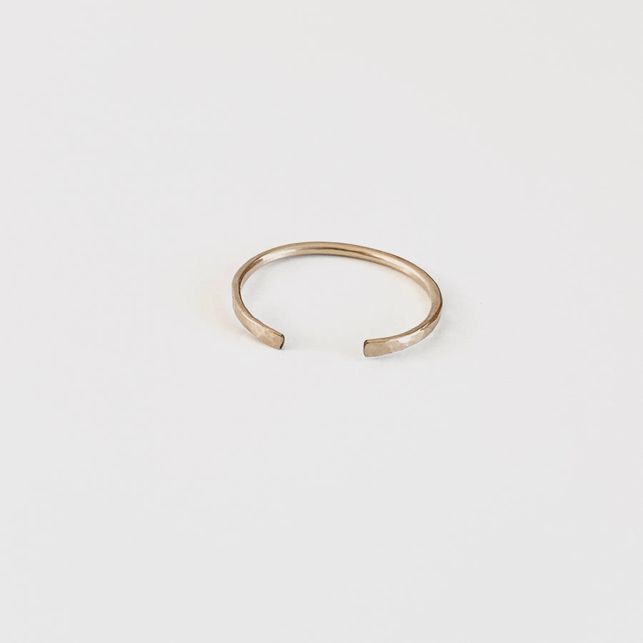 Bijoux B,  Jewelry,  Zoey Open Ring - 14kgf, - Coast Modern