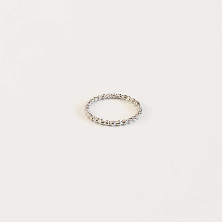 Bijoux B,  Jewelry,  Bead Ring - Sterling Silver, - Coast Modern
