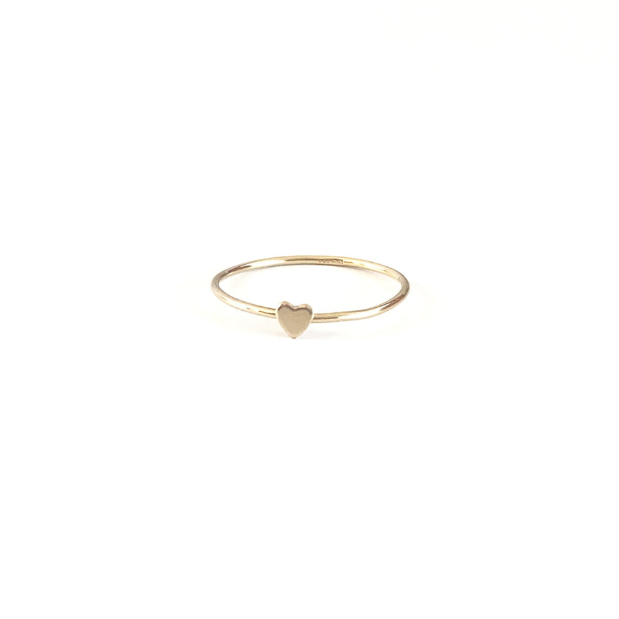 Bijoux B,  Jewelry,  Heart Ring - 14kgf, - Coast Modern