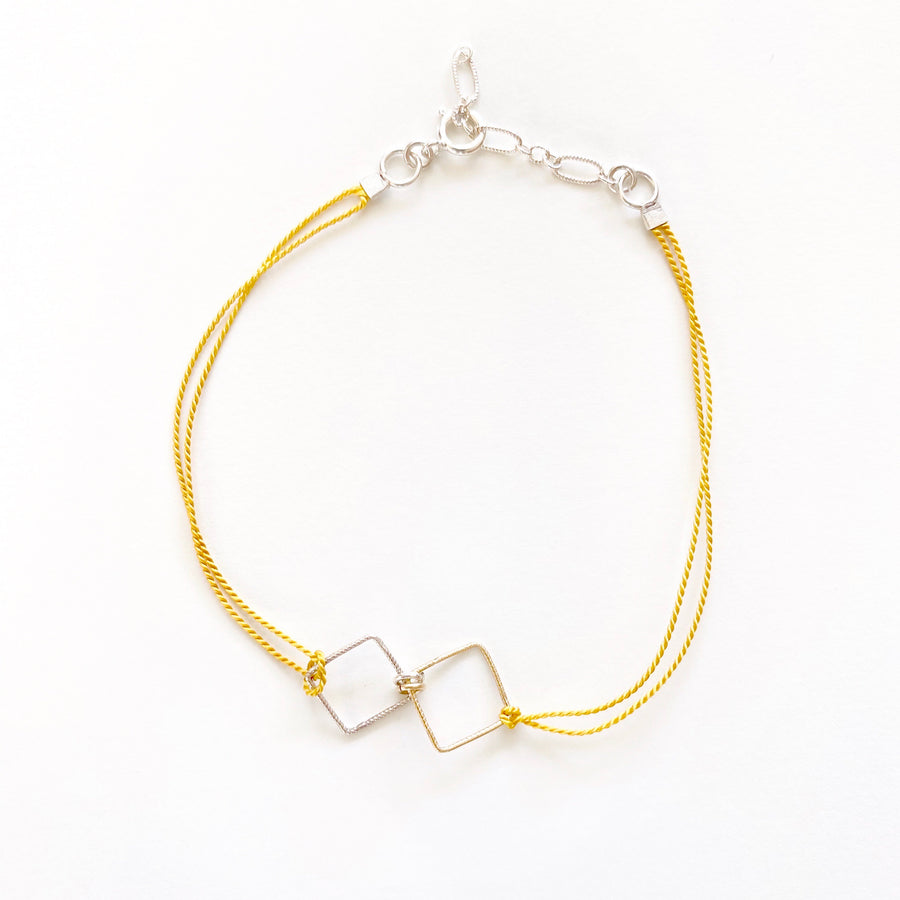 Nancy Yuan,  Jewelry,  Modern Friendship Bracelets Square, - Coast Modern