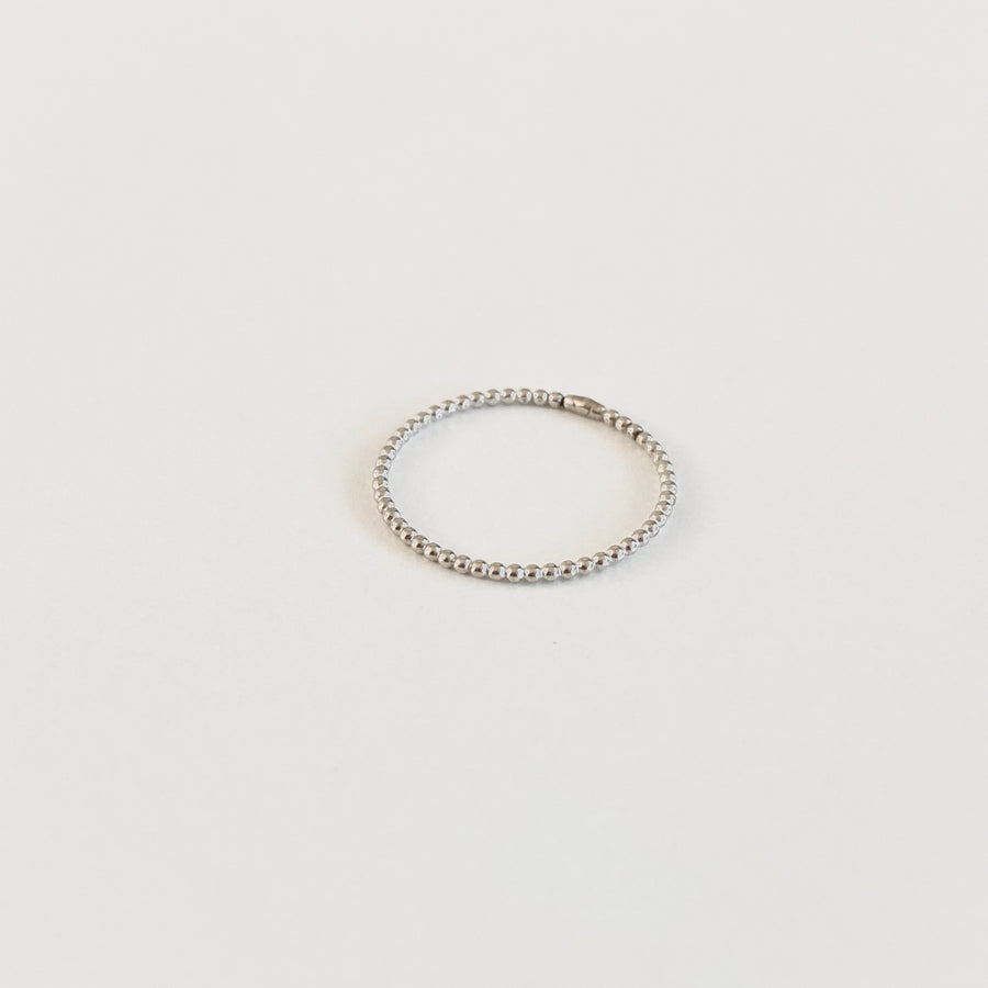 Bijoux B,  Jewelry,  Tiny Bead Ring - Sterling Silver, - Coast Modern