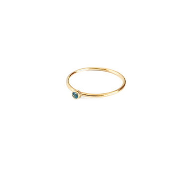 Bijoux B,  Jewelry,  Stone Ring Blue - 14kgf, - Coast Modern