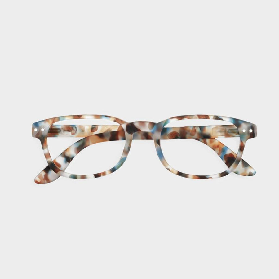 Izipizi Reading Glasses #B Blue Tortoise