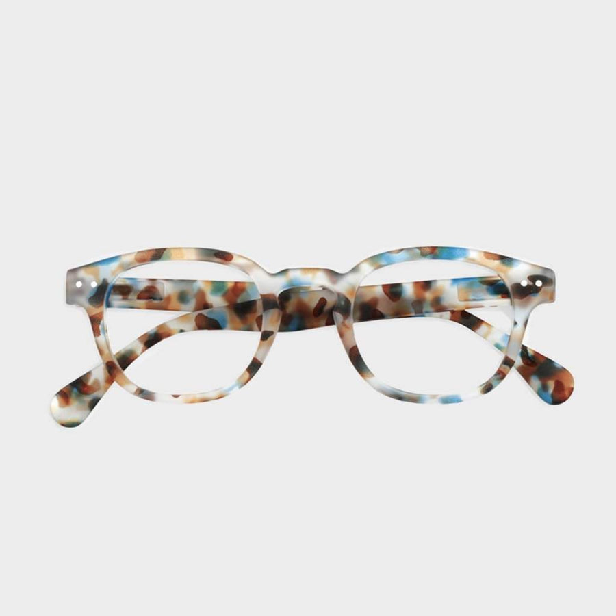 Izipizi Reading #C Blue Tortoise - Coast Modern