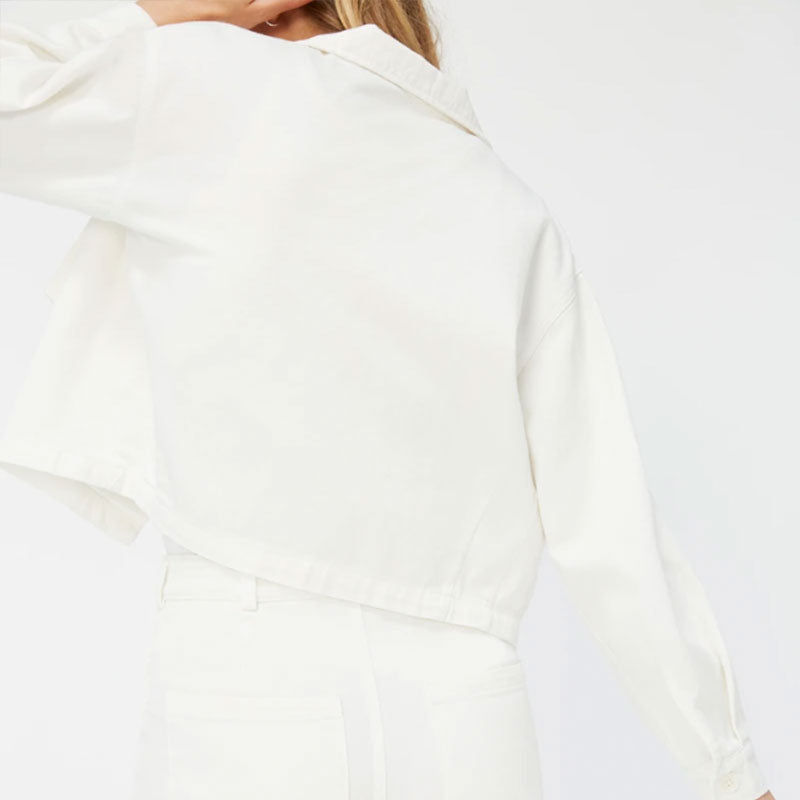 Lacausa,  Sweaters & Jackets, Tops,  Lacausa Hazel Jacket - Panna Cotta, - Coast Modern
