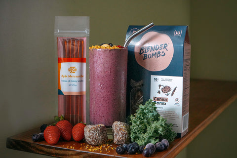 Blender Bombs Canna Bombs Apis Mercantile Smoothie Replacement