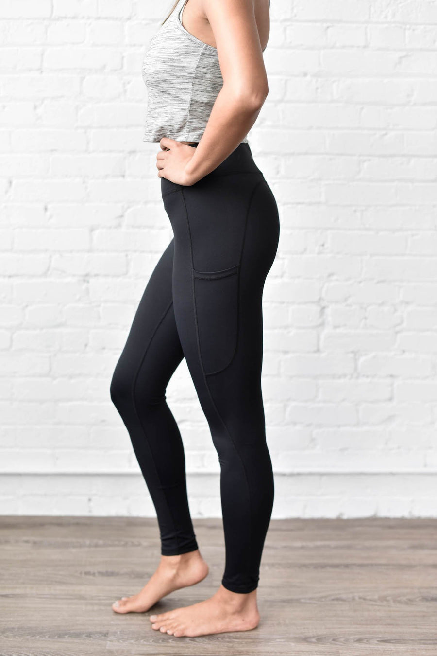 Black Move Forever Leggings