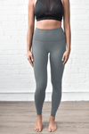 Grey Hi Rise Forever Leggings