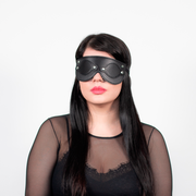 EYE MASK BLINFOLD BLACK