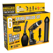6 PC SPIRAL DRILLDO SET 6PC