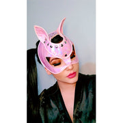 BAD CAT MASK PINK