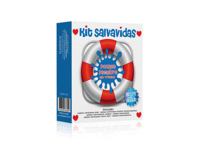 LUB. ÍNTIMO KIT SALVAVIDAS POCKET