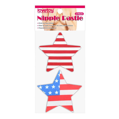 STARS AND STRIPES NIPPLE PASTIES (2)