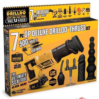 7PC DP DELUXE DRILLDO THRUST  SET