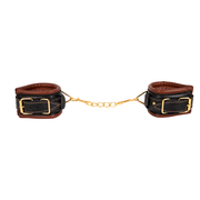 WRIST RESTRAINTS BROWN