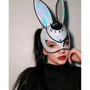 BAD BUNNY MASK WHITE