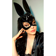 BAD BUNNY MASK BLACK