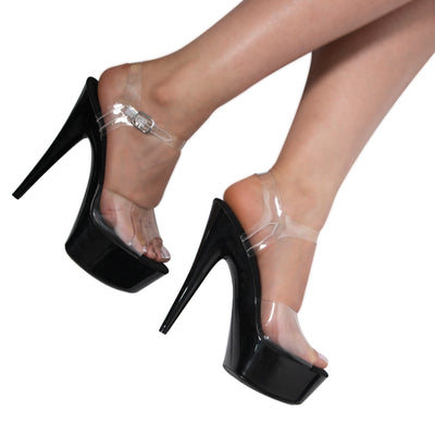 TACONES ALTOS CLEAR NIGHT