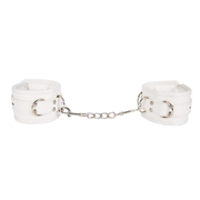 WRIST RESTRAINTS METAL WHITE  MUÑECAS