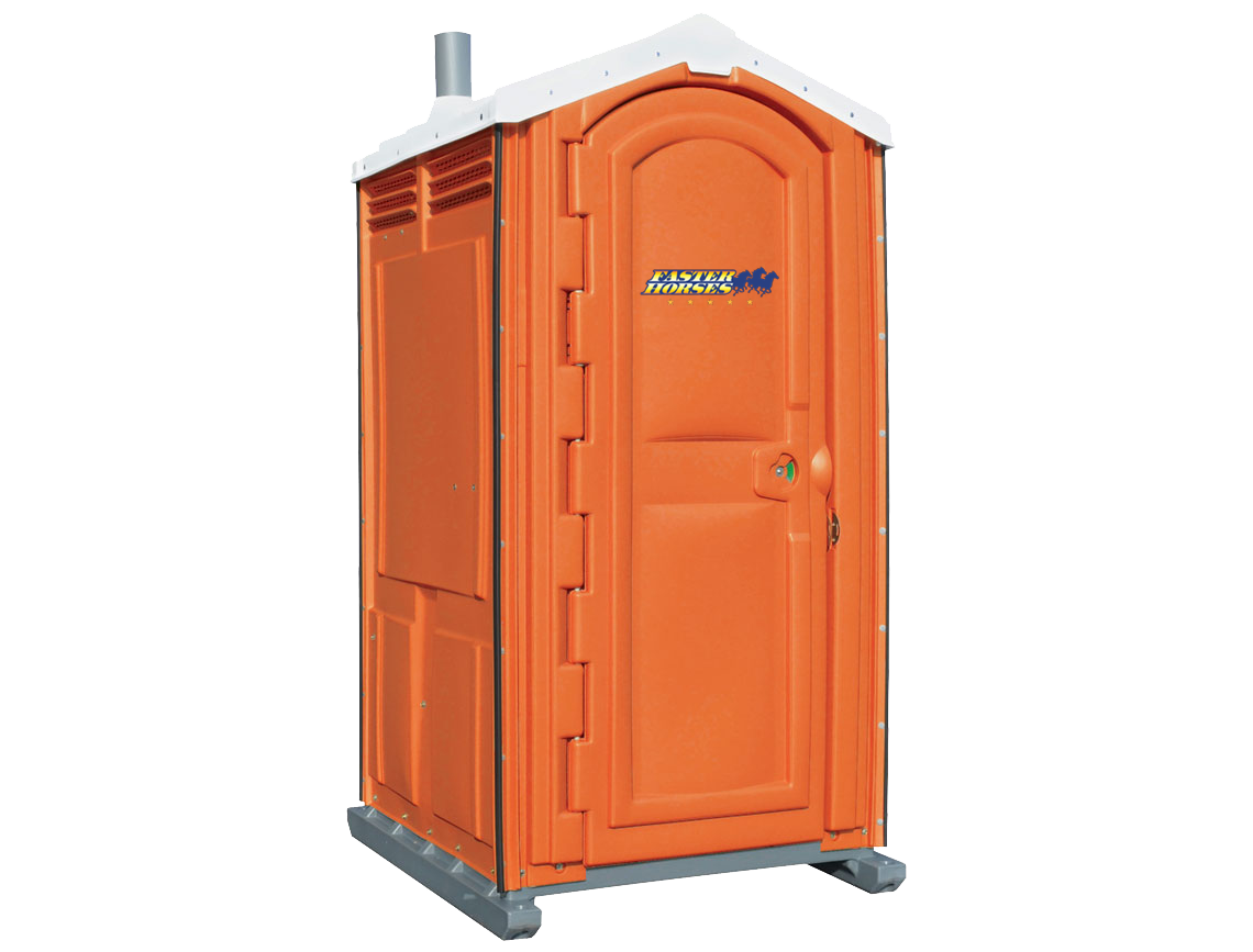Faster Horses Country Music Festival Portable Toilet