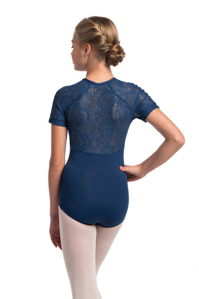 AinslieWear 1068LLG Emily with Lola Lace Girls Leotard