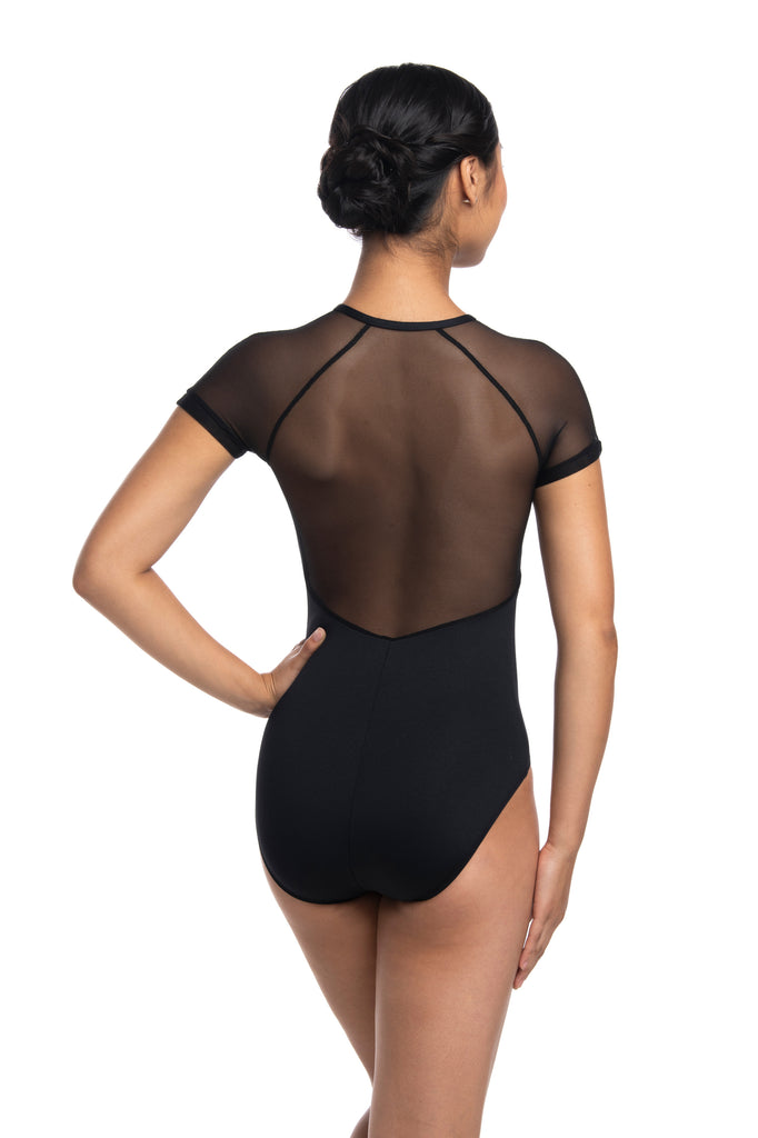 AinslieWear 1068ME Emily with Mesh Leotard