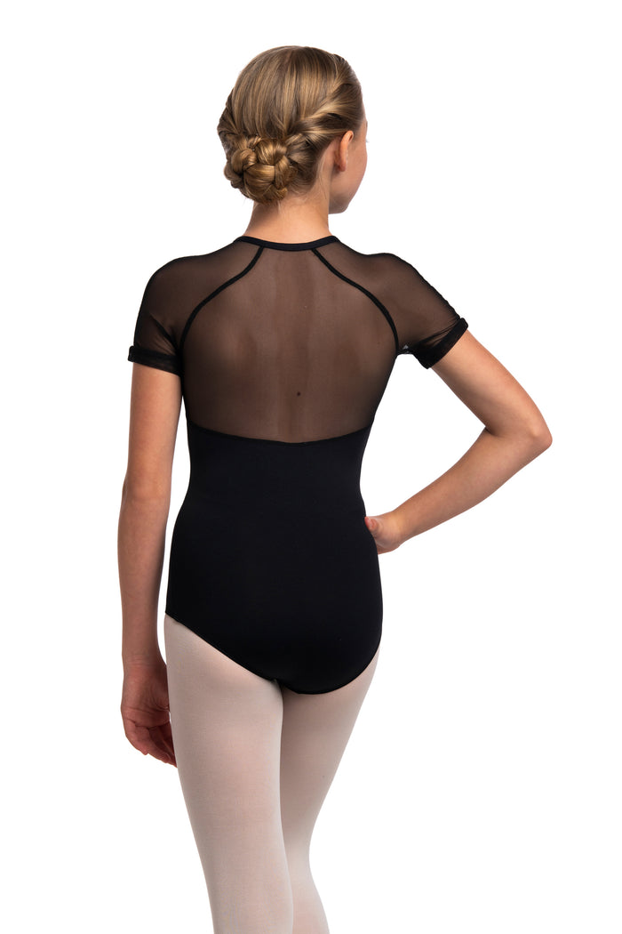 AinslieWear 1068MEG Emily with Mesh Girls Leotard