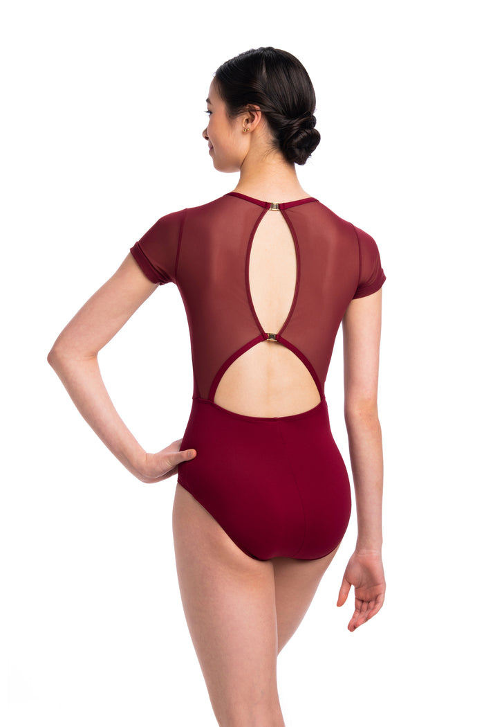 AinslieWear 1089ME Renee with Mesh Leotard