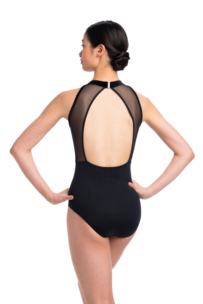 AinslieWear 1091MEV Vera Leotard with Velvet