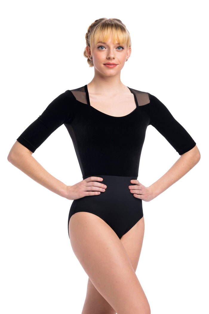 AinslieWear 1096MEV Freya with Velvet Leotard