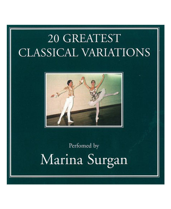 Marina Surgan 20 Greatest Classical Variations CD