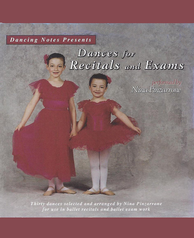 Dances for Recitals and Exams CD by Nina Pinzarrone