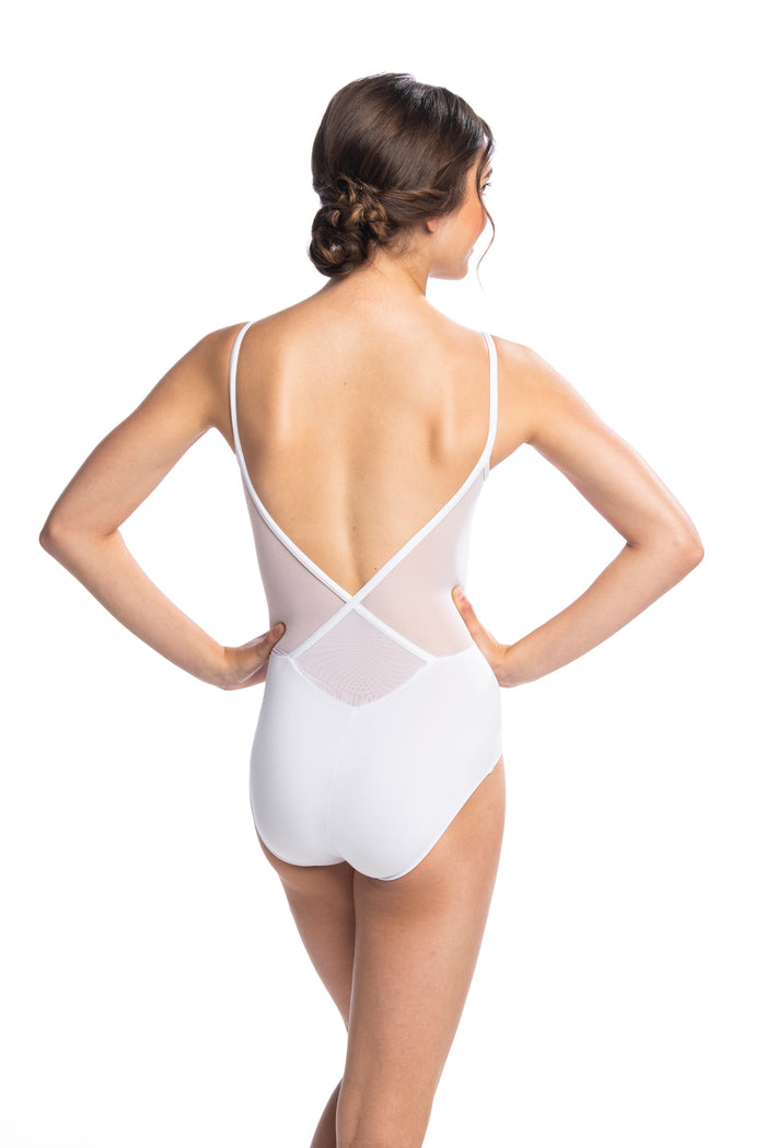 AinslieWear 136ME Allegra with Mesh Leotard