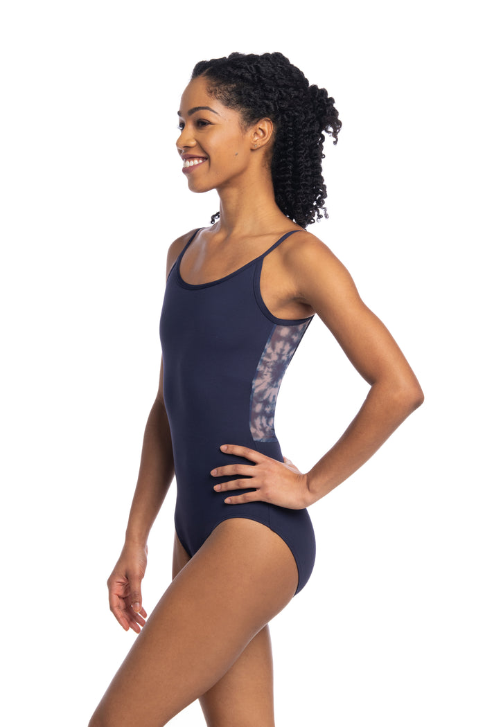 AinslieWear 136SH Allegra with Shibori Print Leotard