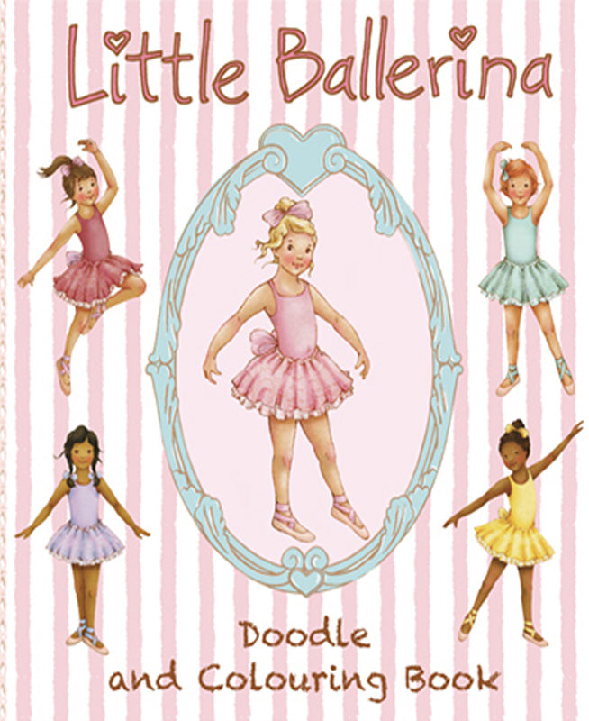 buy little ballerina colouring book