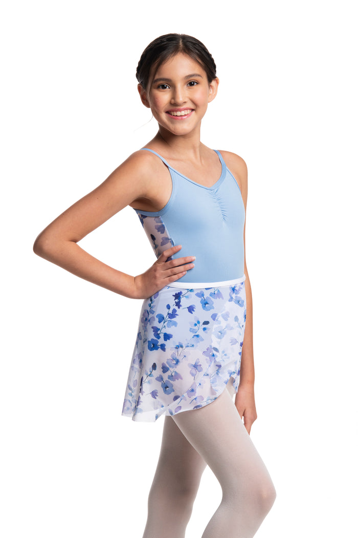 AinslieWear 501DE Delphinium Wrap Skirt Girls