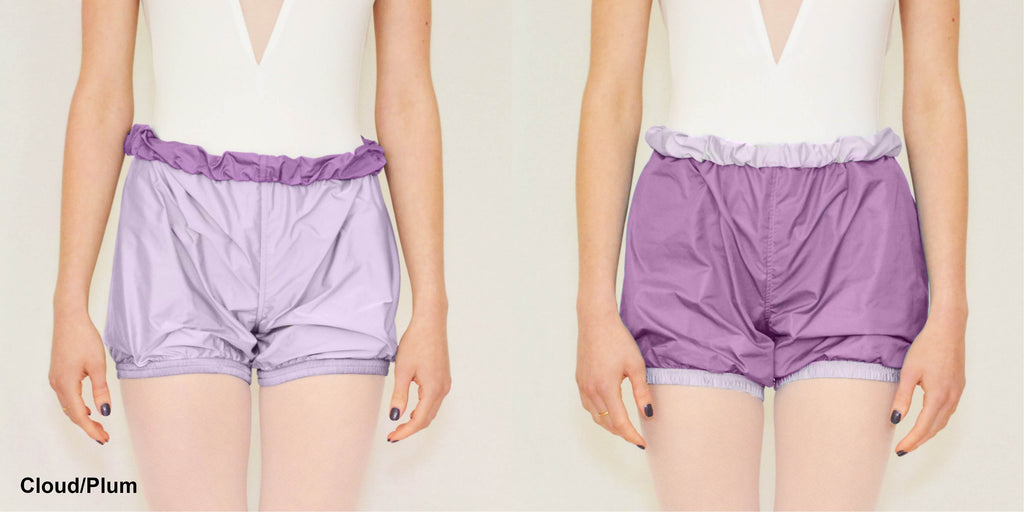 Bullet Pointe Reversible Shorts